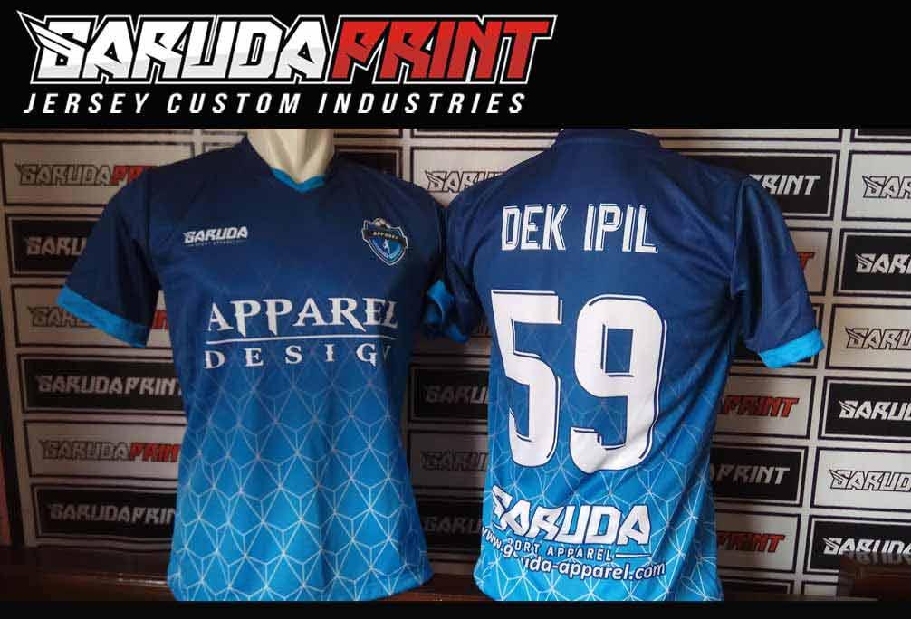 Tempat Pembuatan Kaos Futsal Full Printing di Surabaya