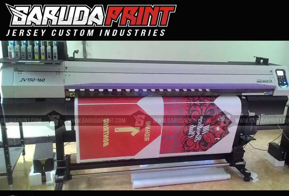 Terima Pemesanan Kaos Futsal printing Desain Sendiri di Bontang