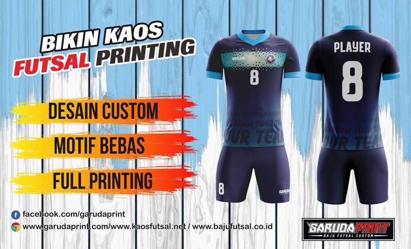 Toko Online Pembuatan Kaos Futsal Printing terbaik