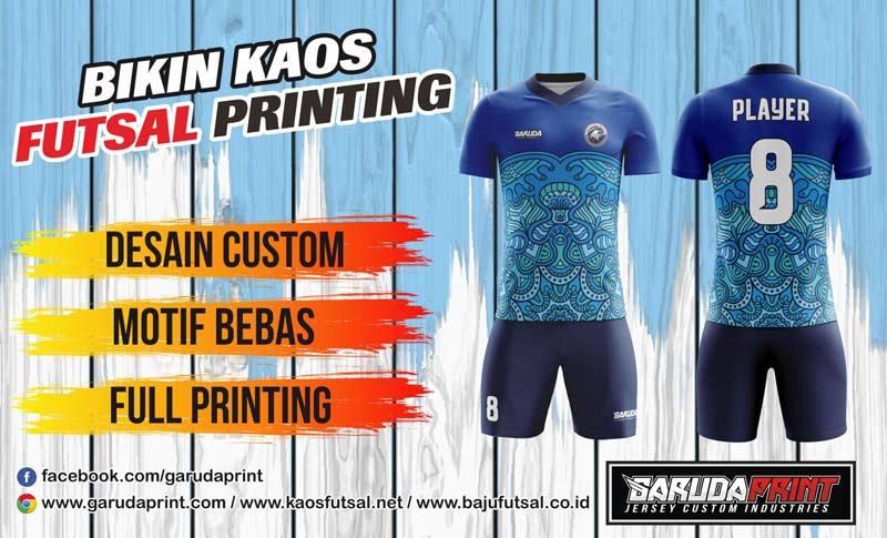 Vendor Bikin Kaos Futsal Full Printing dengan Harga Murah di Manado Kota Tomohon