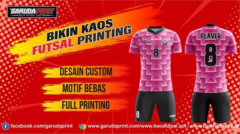 Vendor Pembuat Kaos Futsal Printing di Bondowoso dengan Harga Murah