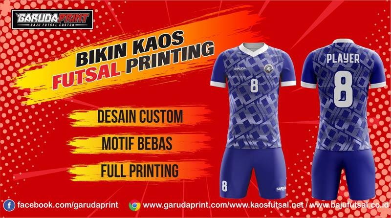 bikin Kaos Futsal Full Printing di Majalengka