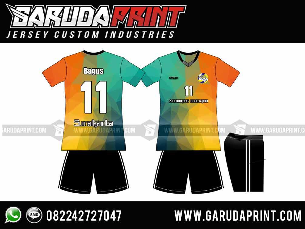 bikin Kaos Futsal Tanpa Sponsor Menempatkan Nomor Pada Bagian Depan