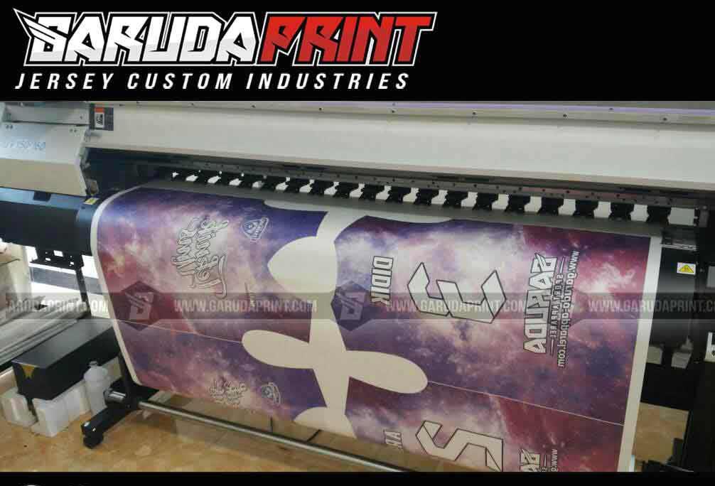bikin kaos futsal printing gradasi