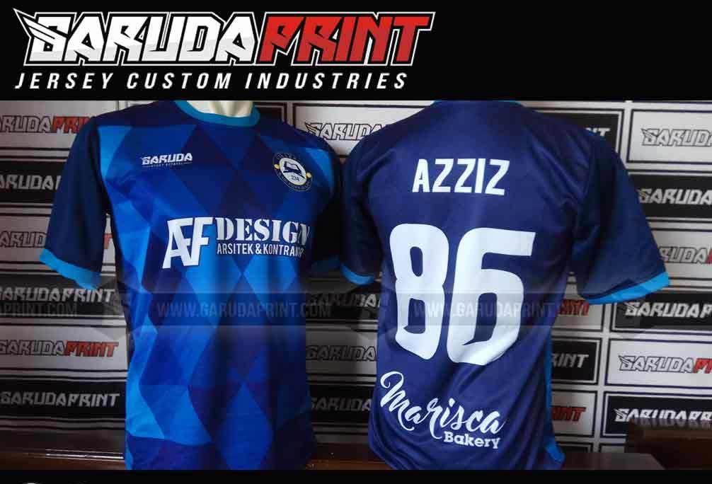 buat Kaos Sepak Bola Printing Bebas Desain