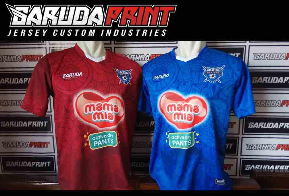 jasa Bikin Kaos Futsal Full Printing di Minahasa-Tondano
