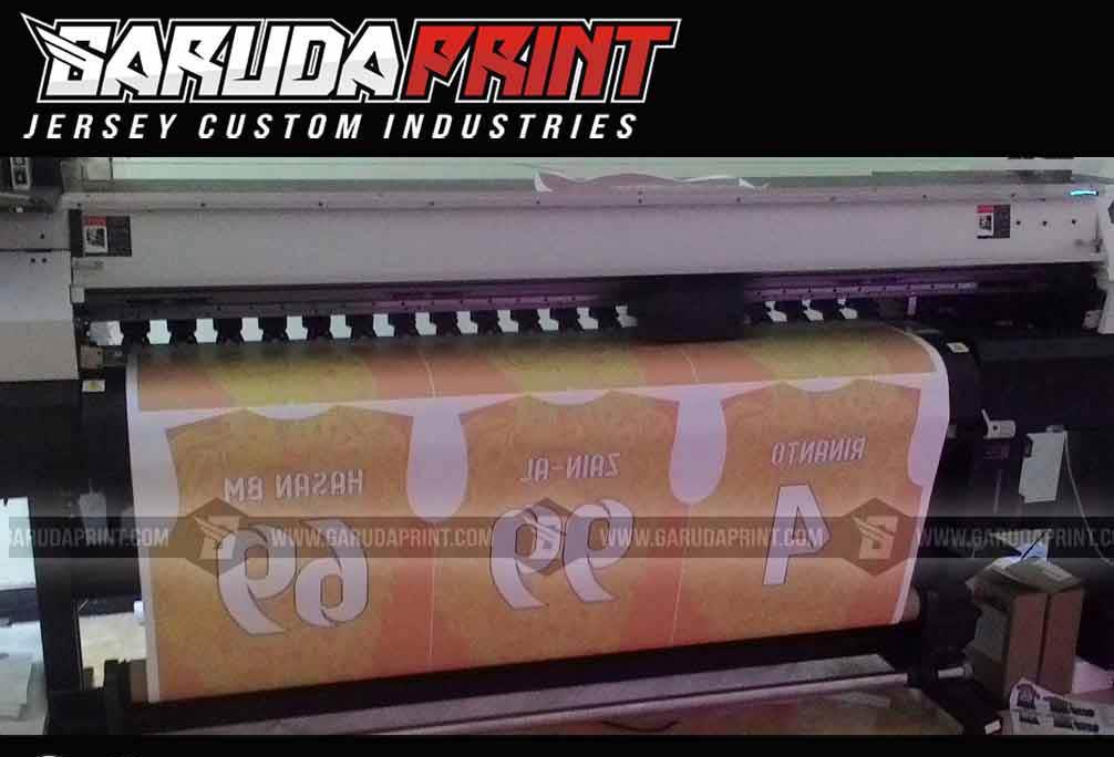 jasa Bikin Kaos Futsal Printing Custom Untuk Area Makassar