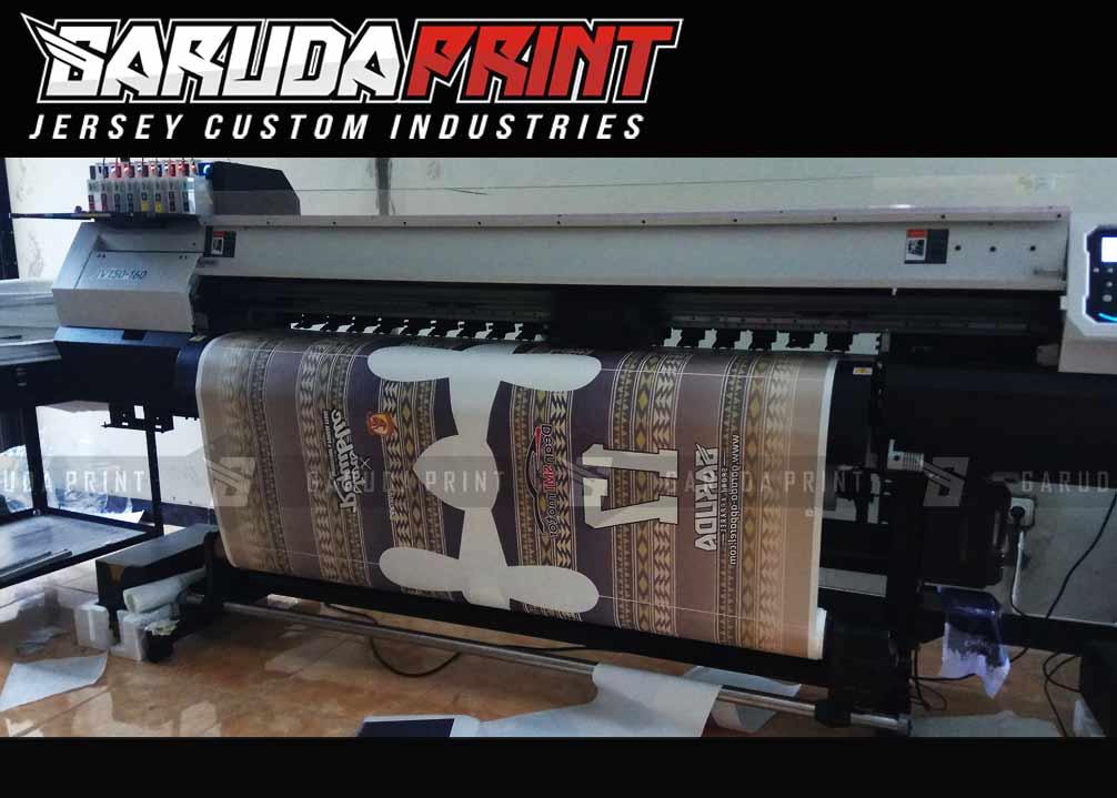 Melayani Pembuatan Jersey Full Print Berbagai Desain di Lamandau