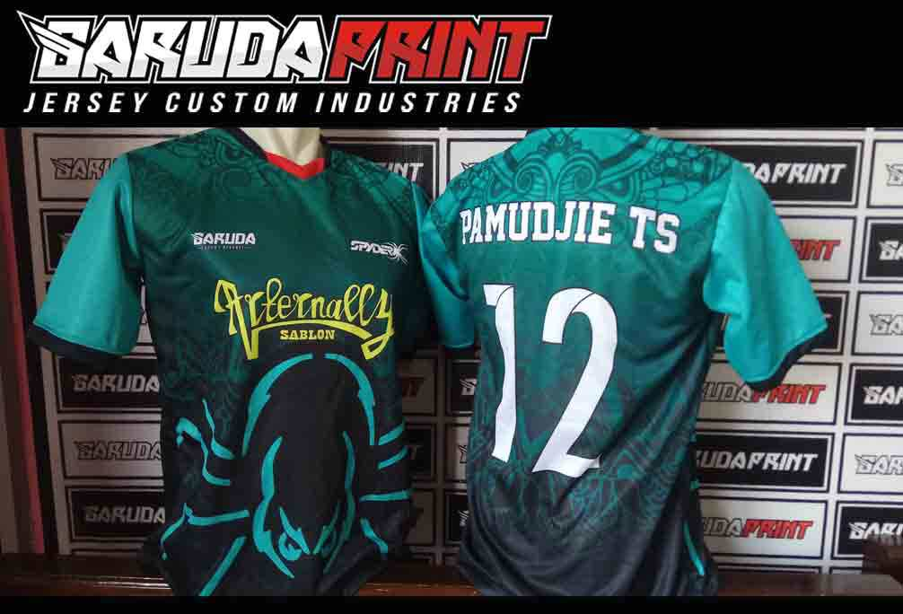 jasa Bikin Kaos Futsal Printing di Jember Berkualitas
