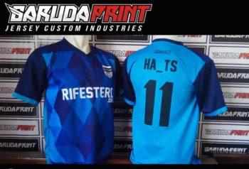 Bikin Kaos Futsal Sablon Nama Sendiri