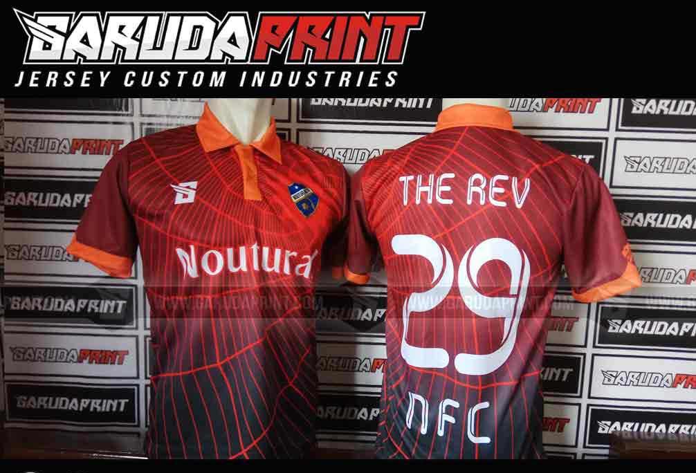 jasa Buat kaos futsal desain sendiri di Garuda Print