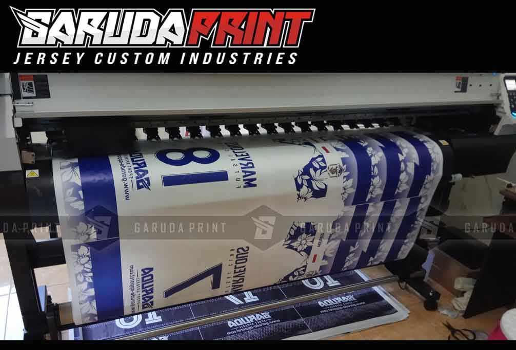 jasa Pembuat Kaos Futsal Full Printing di Probolinggo Harga Murah
