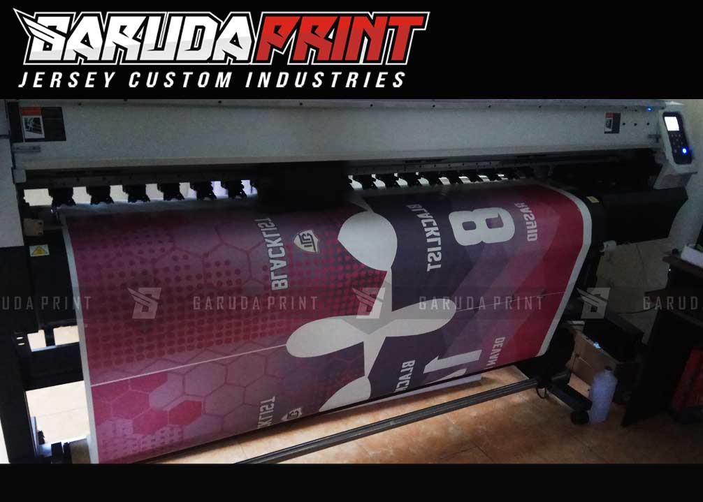 jasa Pembuatan Kaos Futsal Berkualitas di Kendari Printing