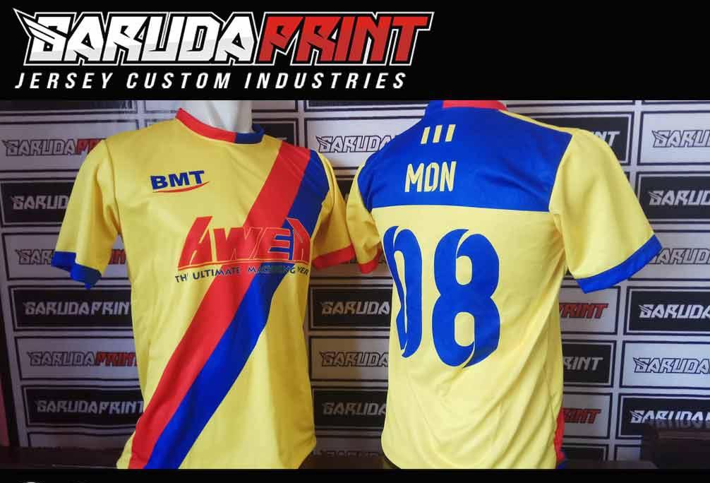 jasa Pembuatan Kaos Futsal di Kutai Kartanegara-Tenggarong