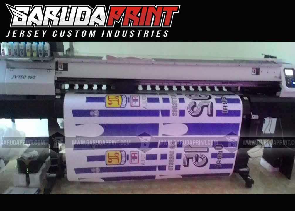 jasa Pembuatan Kaos Futsal printing Berkualitas Tinggi di Singkawang