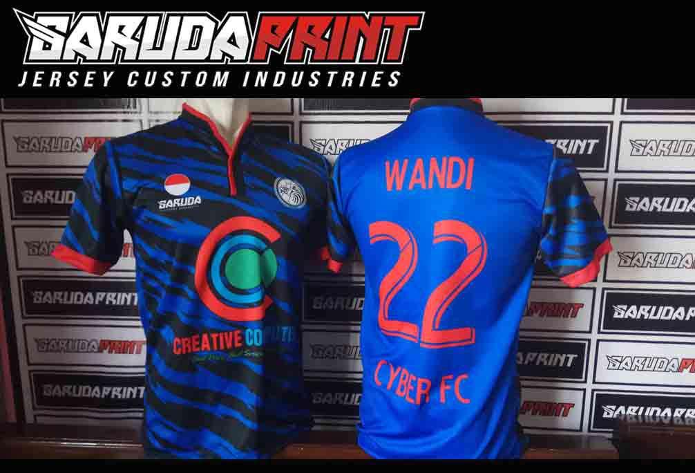 jasa bikin kaos futsal printing di Semarang