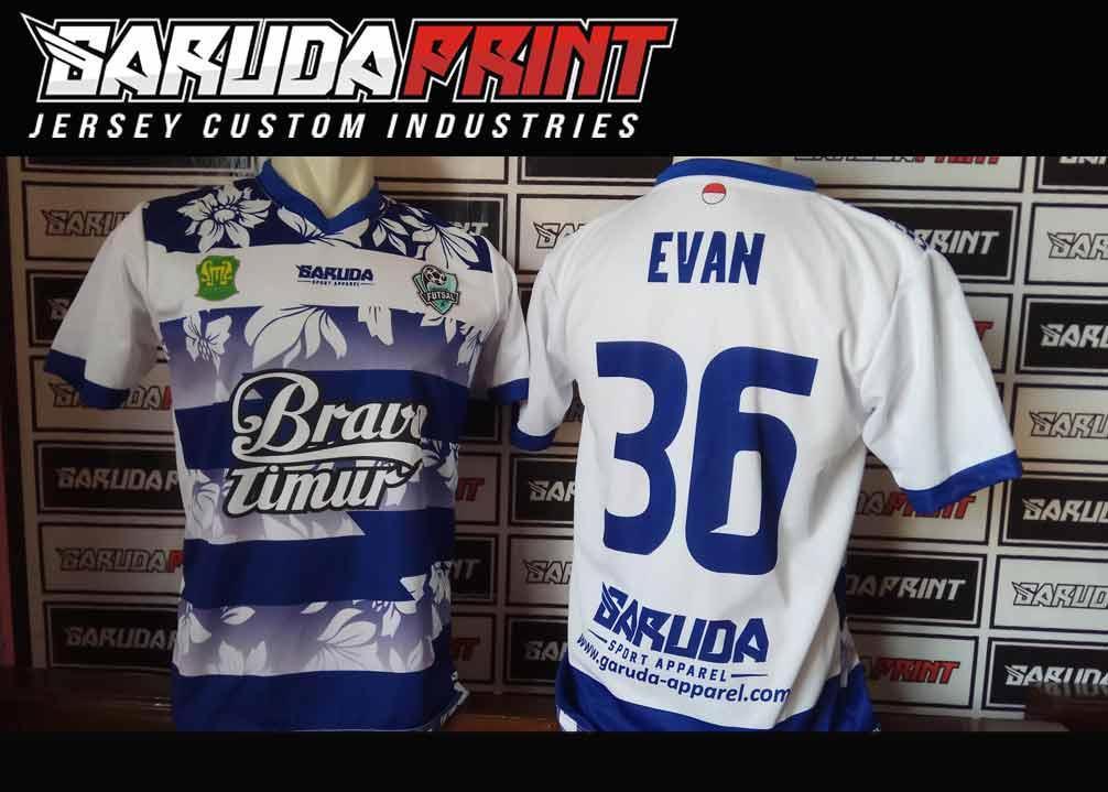 jasa online Pembuatan Kaos Futsal Full Printing Berkualitas di Barito