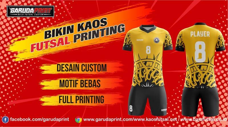 jasa pembuatan kaos futsal printing di Pati-Mungkid