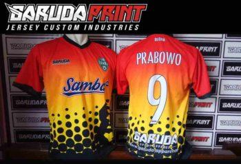 Jasa Pembuatan Kaos Futsal Printing Olahraga di Tegal