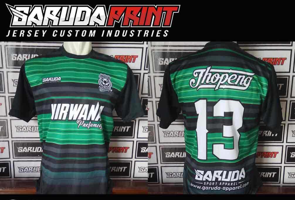 pembuatan Kaos Futsal Full Printing Area Bogor-Cibinong