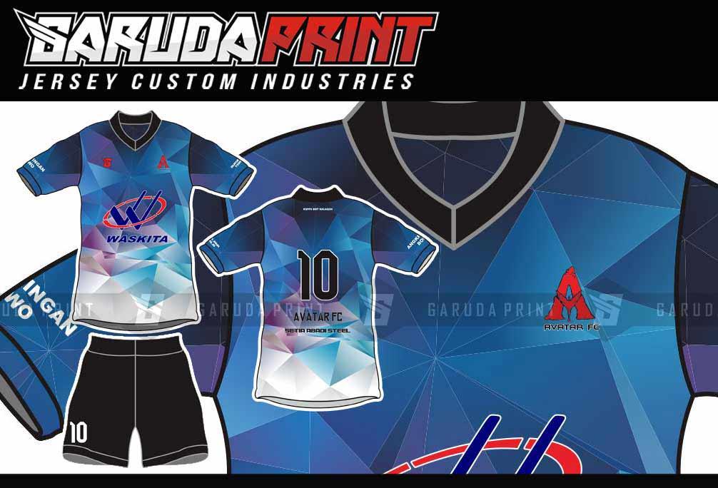 pembuatan Kaos Futsal Full Printing di Garut-Tarogong Kidul
