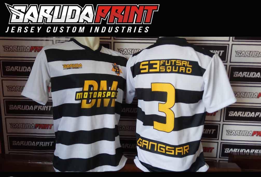 pembuatan Kaos Futsal Full Printing di Majalengka