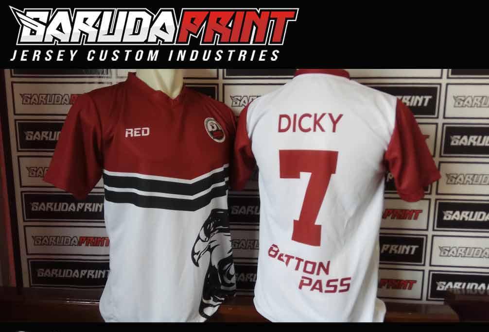 pembuatan Kaos Futsal Printing di Bekasi-Cikarang