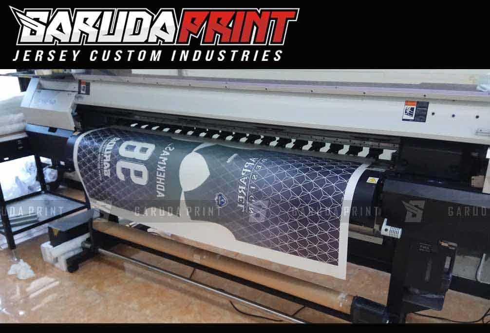 pembuatan Kaos Futsal Printing di Kota Depok