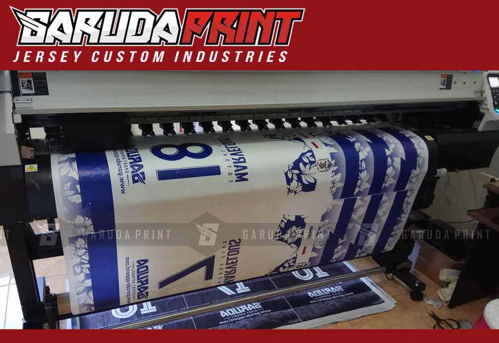 pembuatan kaos futsal printing murah