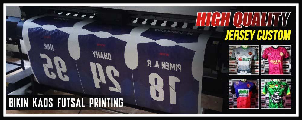 pembuatan kaos futsal printing