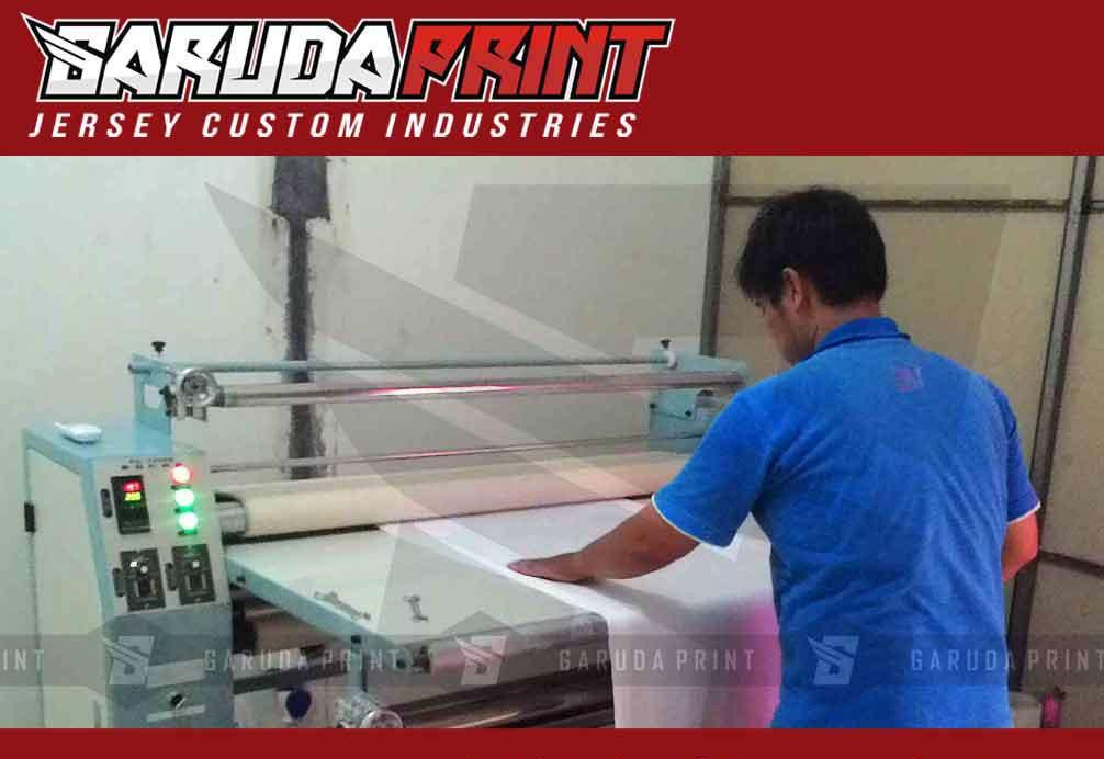 proses printing sublimasi