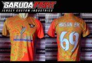 Bikin Kaos Futsal Printing Custom Untuk Area Makassar