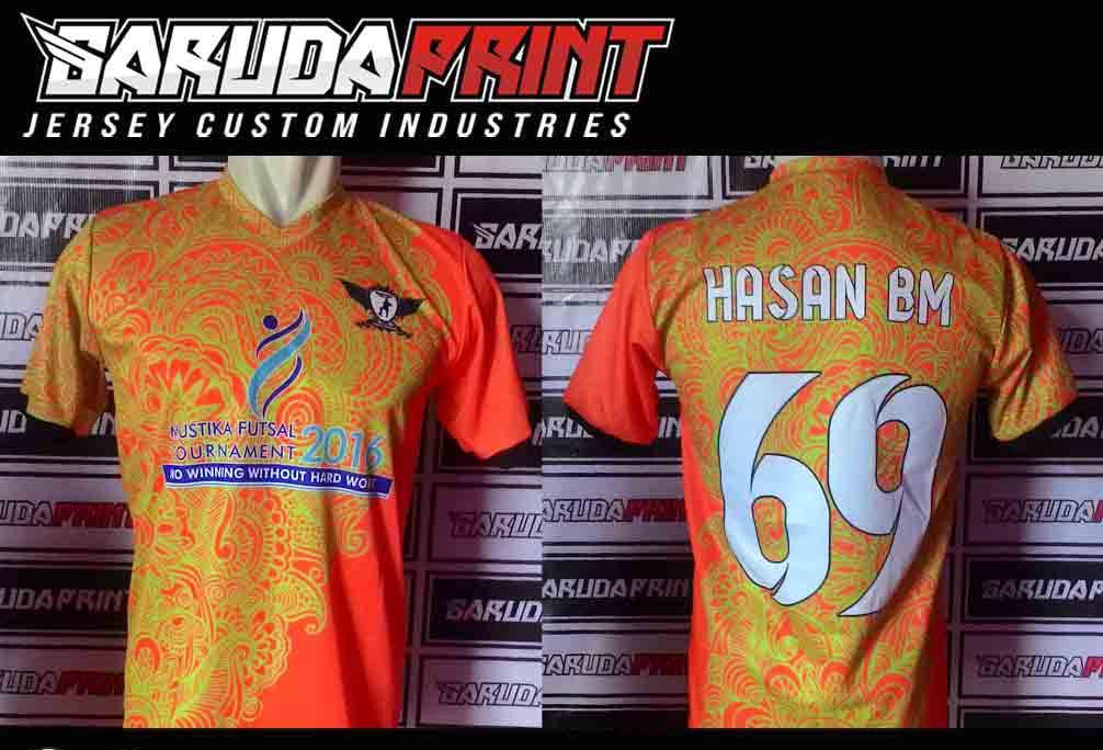 tempat Bikin Kaos Futsal Printing Custom Untuk Area Makassar