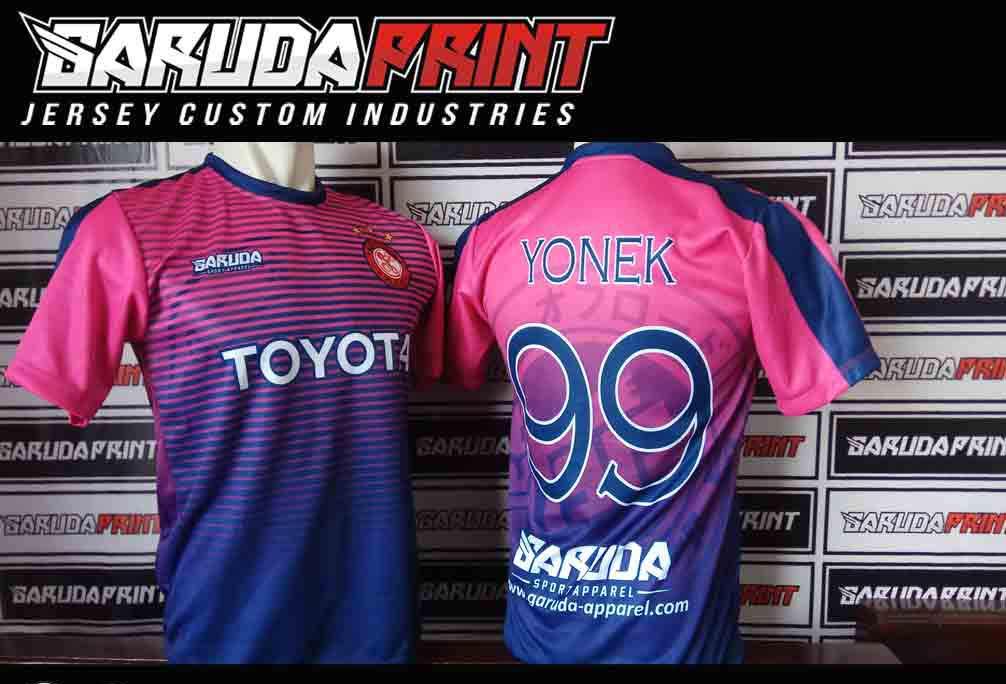 tempat Buat Kaos Jersey Futsal Printing di Boyolali