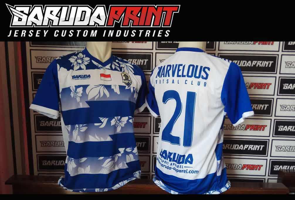 tempat Pembuat Kaos Futsal Full Printing di Probolinggo Harga Murah