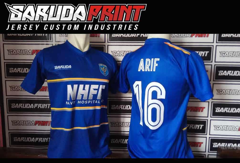 tempat Pembuatan Kaos Futsal Full Printing Harga Murah di Mojokerto