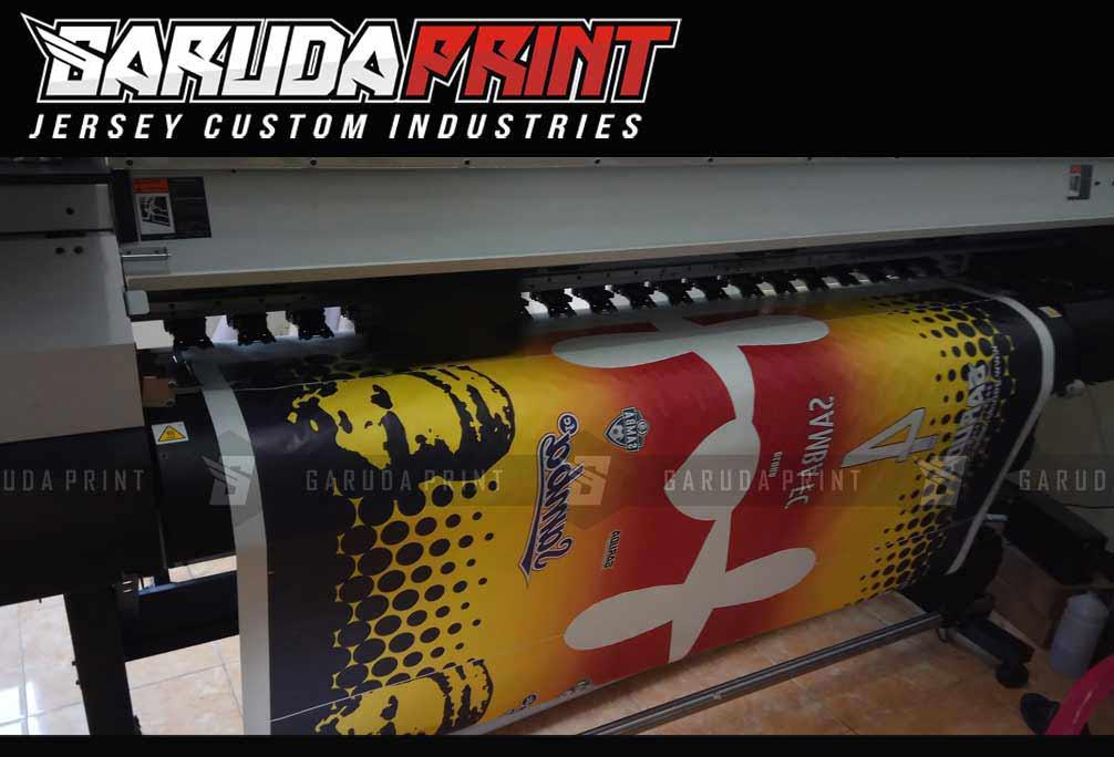 tempat Pembuatan Kaos Futsal Printing Olahraga di Tegal