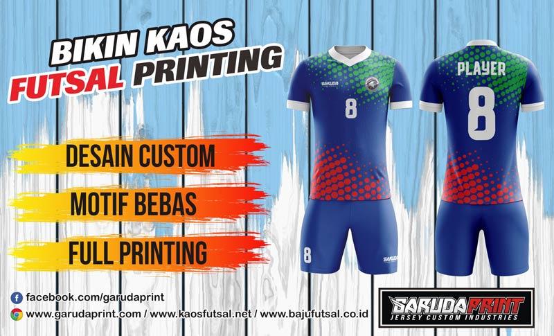 tempat Pembuatan & Pemesanan Kaos Futsal di Pontianak