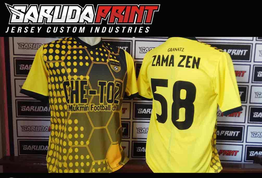 vendor Bikin Kaos Futsal Printing Custom Daerah Kendal