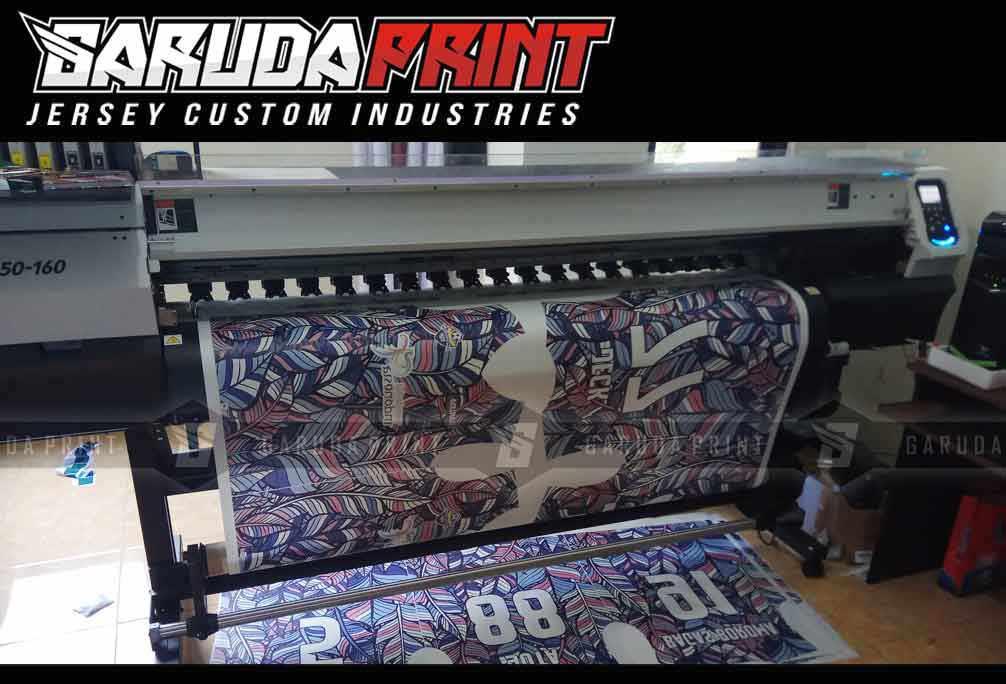vendor Pembuatan Kaos Futsal Full Printing di Jeneponto Berbagai Motif