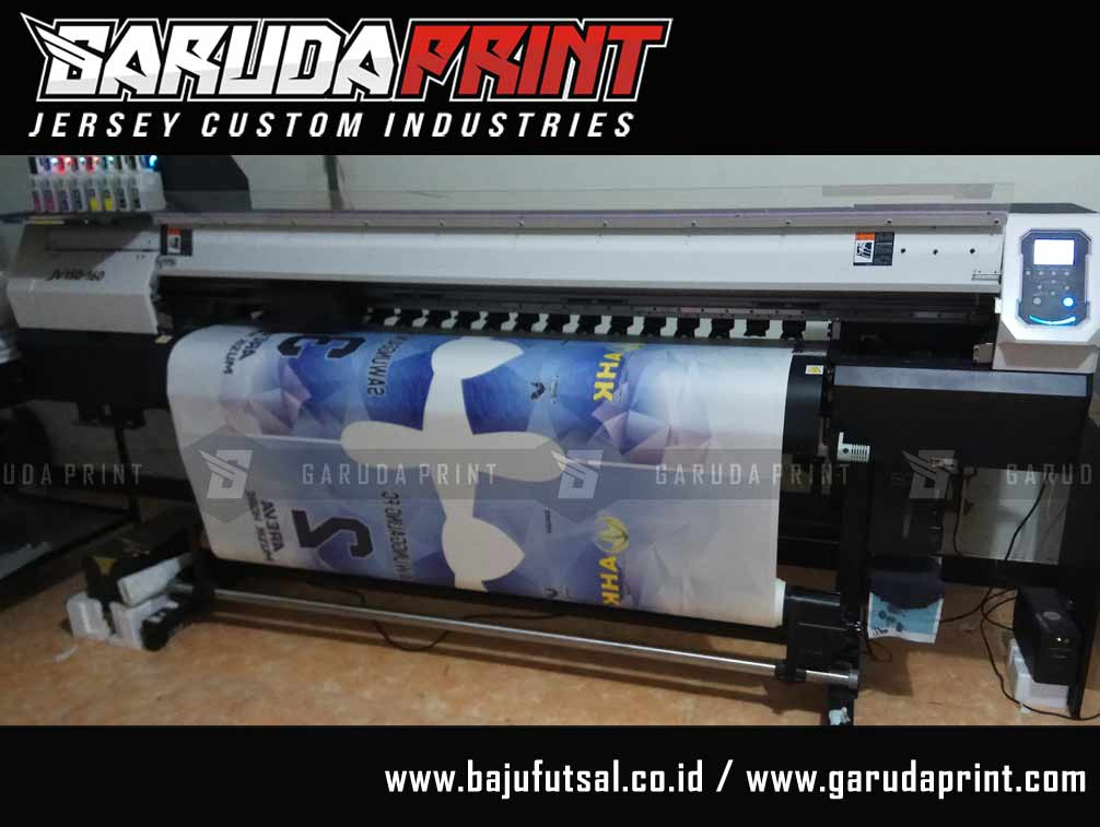 Bikin Kaos Futsal Full Printing di Musi Rawas-Muara
