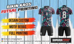 Pusat Bikin Kaos Futsal Full Printing di Musi Rawas-Muara