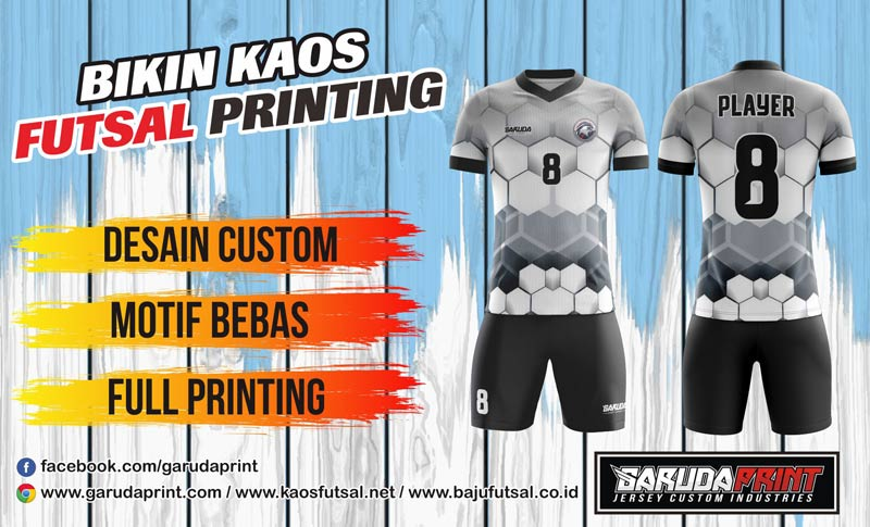 Vendor Bikin Jersey Full Printing Terbaik di Minahasa Sulawesi