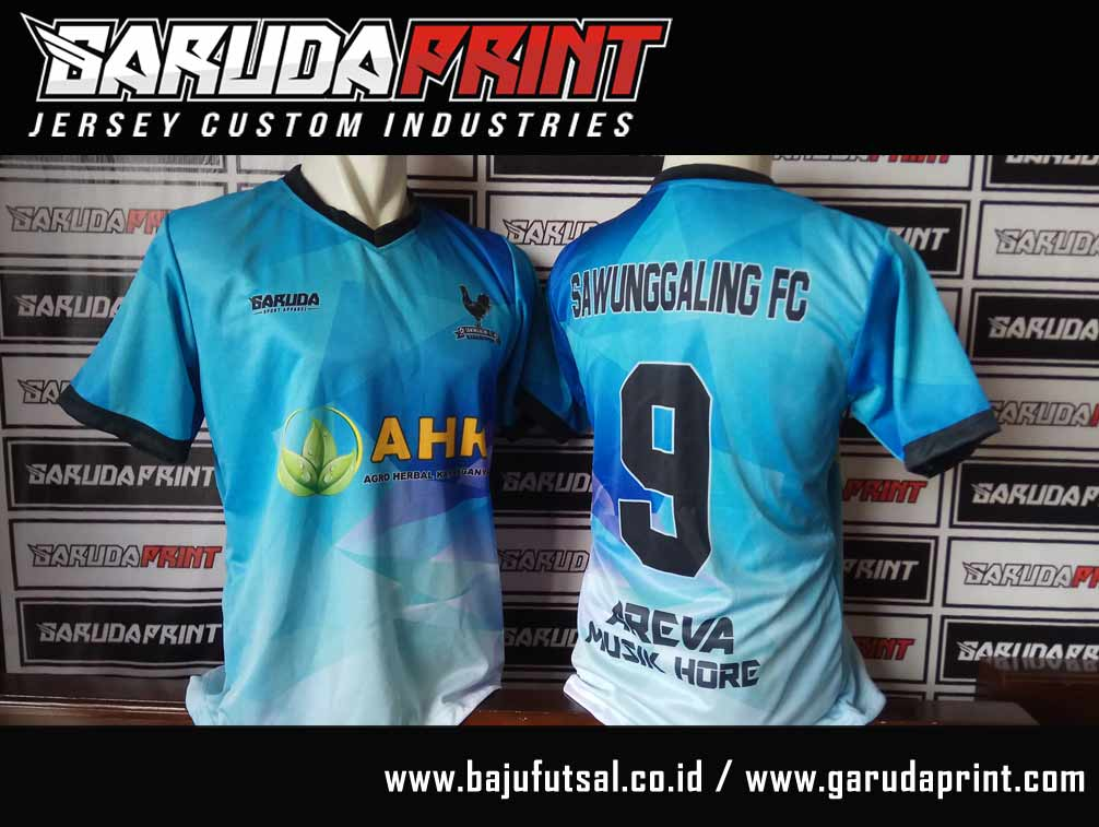 jasa Bikin Kaos Futsal Full Printing di Musi Rawas-Muara