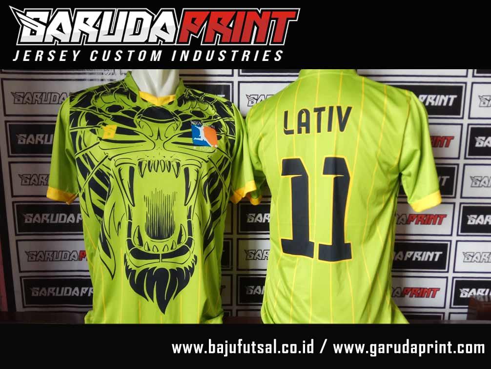jasa Pembuatan Kaos Futsal Terbaik di Poso Sulawesi