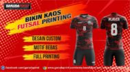 Bikin Jersey Printing Custom di Toraja Utara