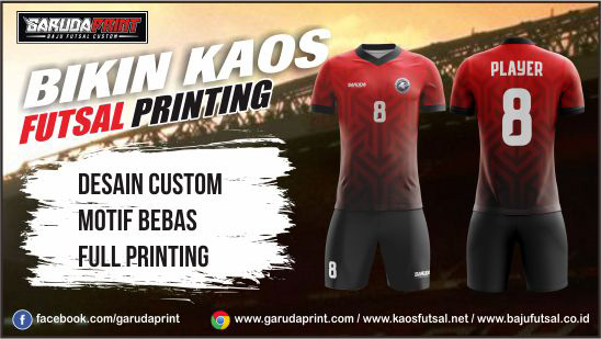 Jasa Pembuatan Jersey Full Printing Terbaik dengan Harga Murah diTana Toraja
