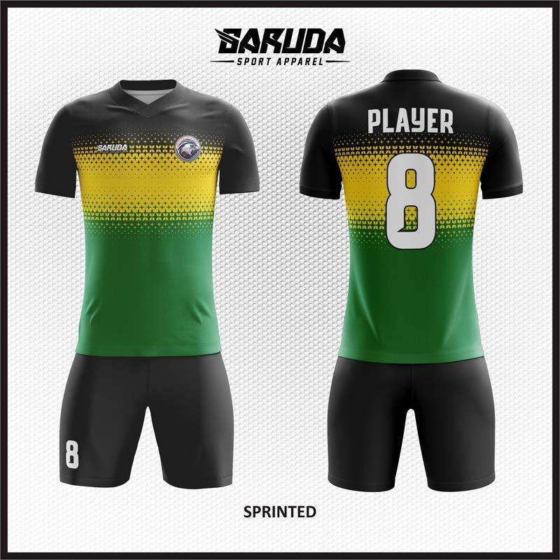 Desain Jersey Futsal Yang Keren Kombinasi Tiga Warna