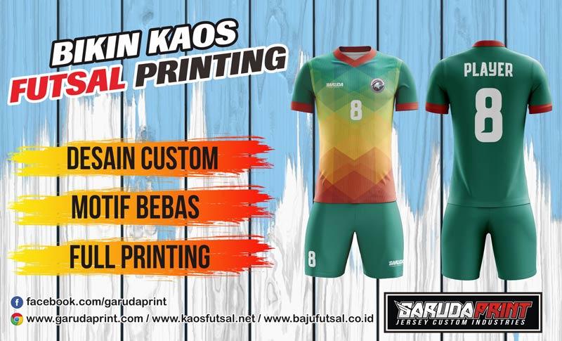 Menerima Pembuatan Kostum Jersey Full Printing di Buton-Pasarwajo