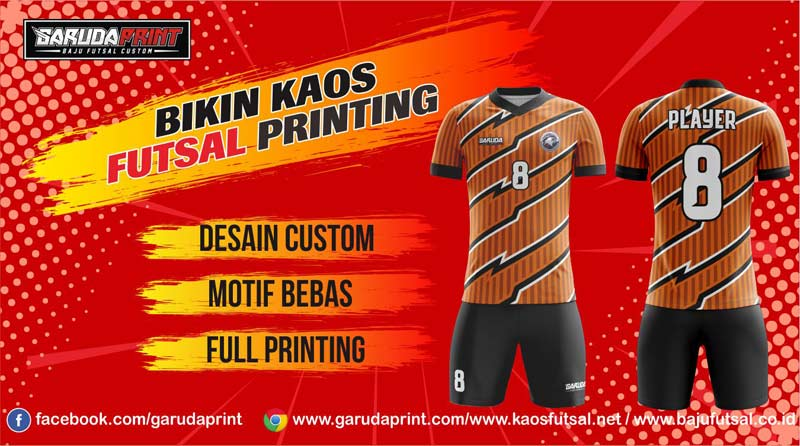 asa pembuatan jersey bola full printing di Pinrang